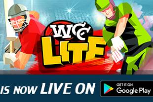 Best 3D mobile Cricket game on Lowest File Size - WCC Lite