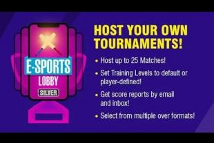 WCC Rivals E-Sports Lobby for Mobile Cricket Tournaments