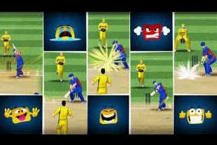 WCC lite : Batting multiplayer Cricket game
