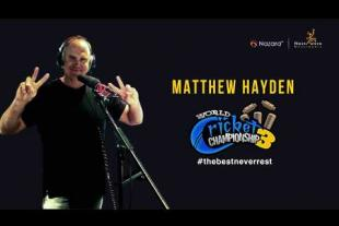 Cricketing legend Matthew Hayden on board as Game advisor and Commentator!