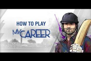 Build your own Cricket Career in WCC3